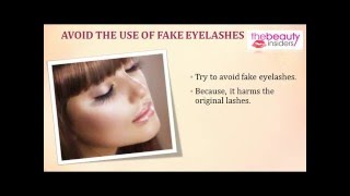 How To Make Your Lashes Longer and Beautiful At Home? Thumbnail