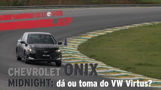 1.0 Turbo no FULLPOWER LAP: Chevrolet Onix Midnight bateu no VW Virtus?