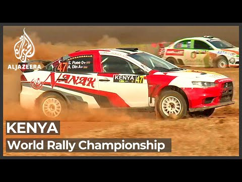 World rally championship begins in Kenya after a 19-year gap