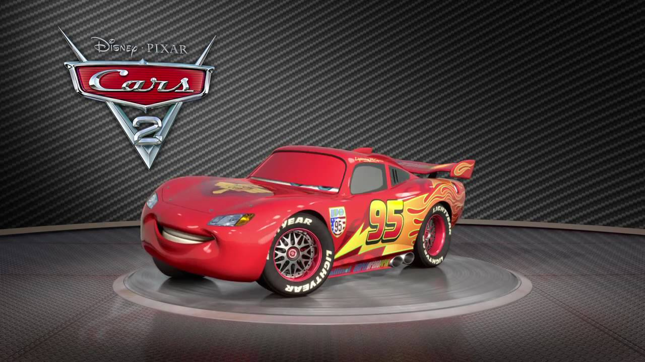 disney pixar cars 2 saetta mcqueen turntable youtube