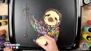 Rainbow Sloth - Relaxing Pancake Art