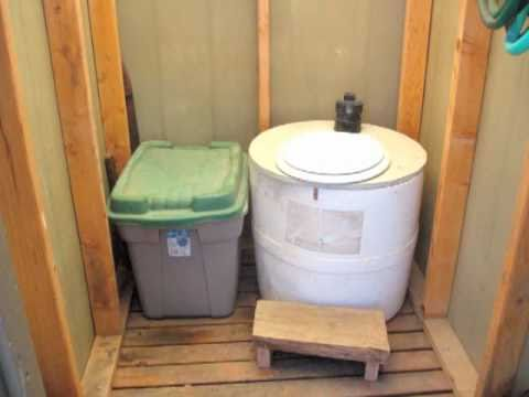 DIY Composting Toilet part 1 - YouTube