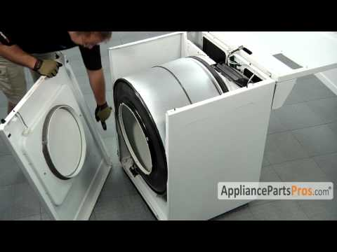 how to open a whirlpool or kenmore dryer