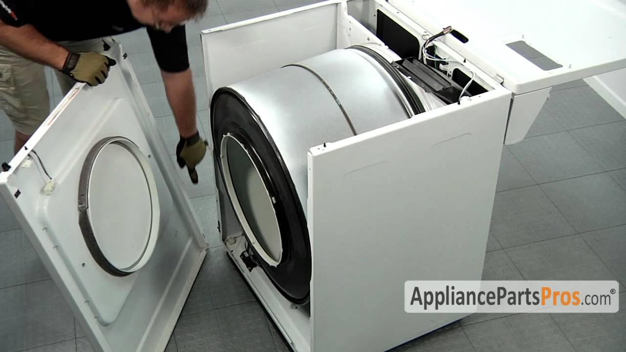 How to Disemble Whirlpool/Kenmore Dryer - YouTube
