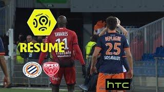 Montpellier Hérault SC - Dijon FCO (1-1)  - Résumé - (MHSC - DFCO) / 2016-17