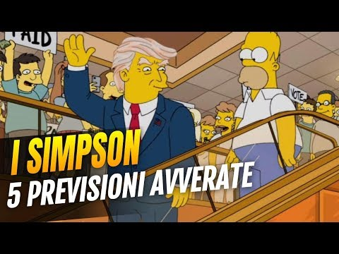I Simpson - 5 profezie che si sono avverate