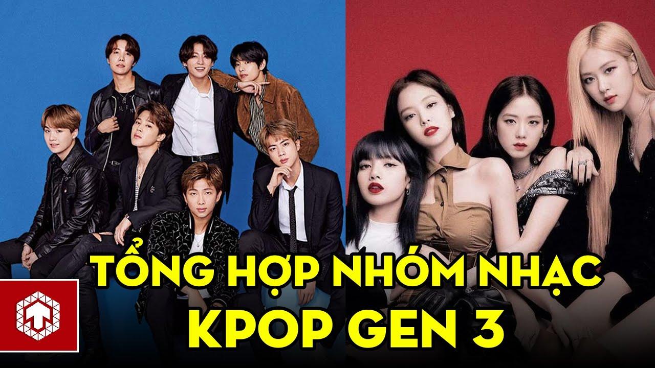 Tổng Hợp Những Nhóm Nhạc Kpop Thế Hệ 3 Nổi Đình Đám | Ten Asia