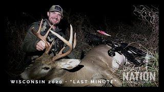 Wisconsin Deer Hunt 2020 - SURPRISE BUCK and an Unlucky Coyote