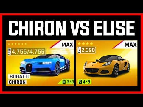 Asphalt 9 Bugatti Chiron VS Lotus Elise But With A Twist...
