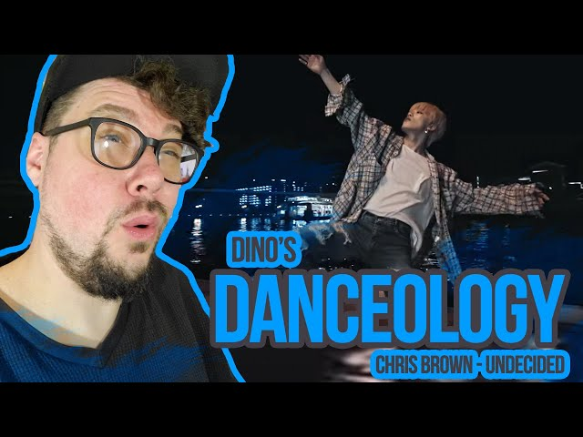 Mikey Reacts to [DINO'S DANCEOLOGY] Chris Brown - Undecided