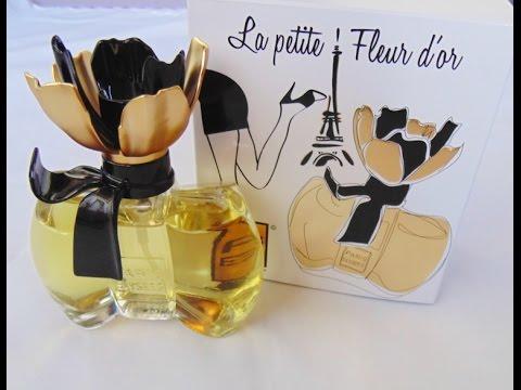 PERFUME ( LA PETITE FLEUR D OR ) PARIS ELYSEES RESENHA - YouTube b390b428ae2