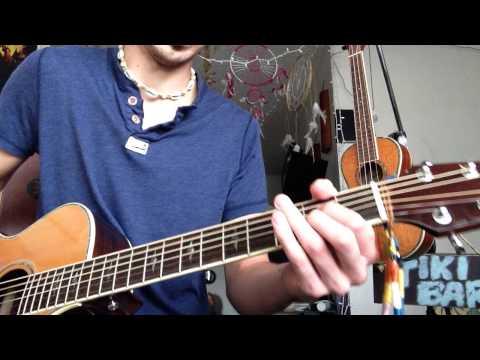 Guitar Tutorial for Hangin' Around by Josh Abbott Band