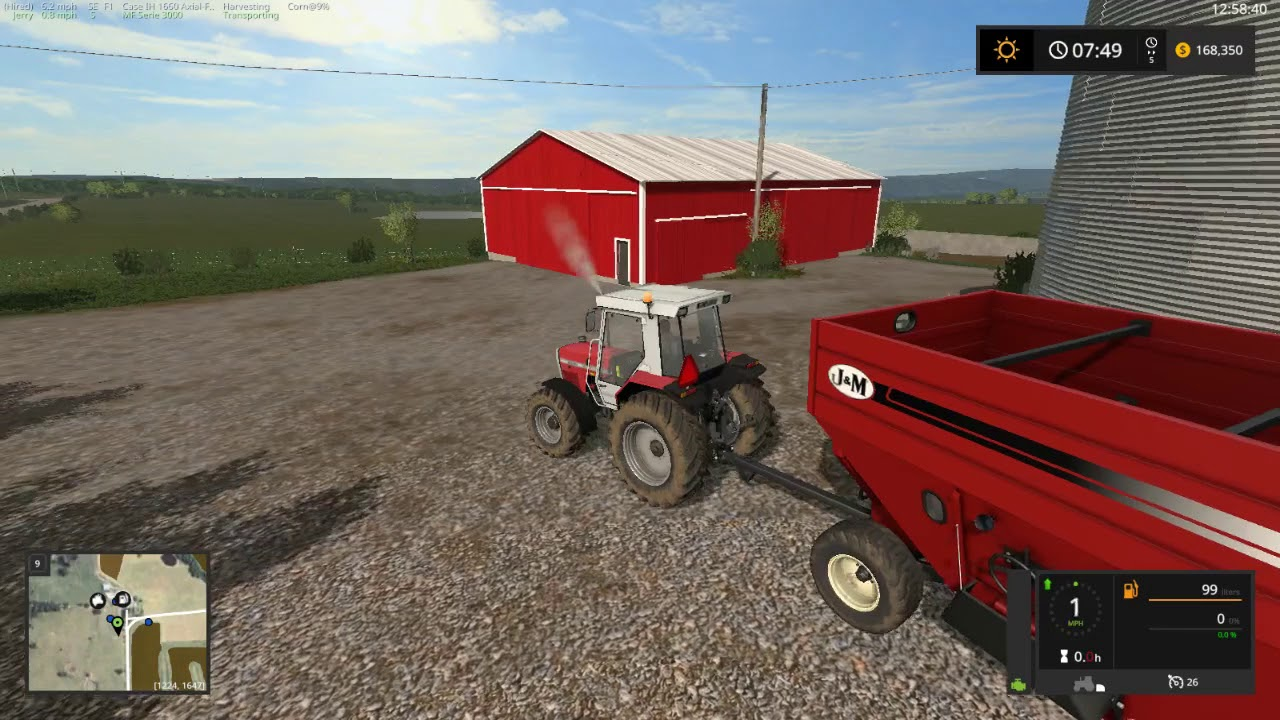 FS17 No Creek Farms Starting With The Basics by OldGuyGaming