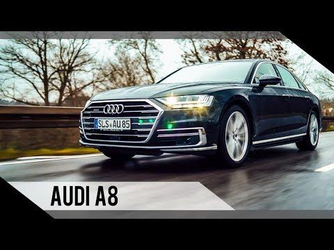 Audi A8   2018   Test   Review   Fahrbericht   MotorWoche