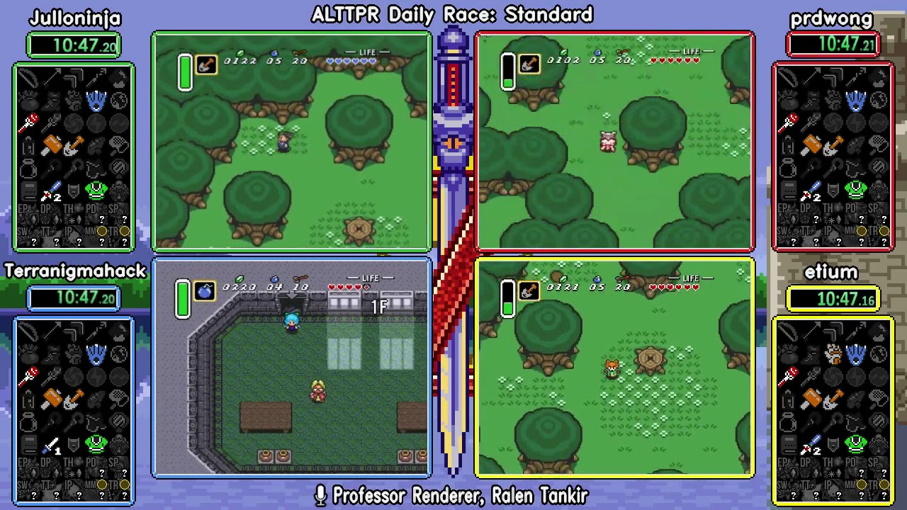 Standard 052019  ALTTP Randomizer Daily Race by SpeedGaming