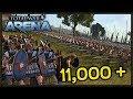 Epic 11,000 Point Battle - Total War: Arena Gameplay