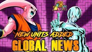 GLOBAL NEWS! NEW UNITS ADDED! TRANSFORMING BUU & LR COOLER | DRAGON BALL Z DOKKAN BATTLE