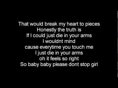 Die In Your Arms Lyrics  - Justin Bieber