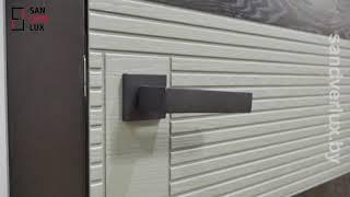 Обзор межкомнатной двери из массива дуба Пластрон , Поставский мебельный центр - Sandverlux.by - Видео от ООО Сандверлюкс