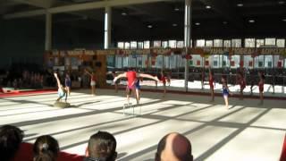 День гимнастики 2012. Старшие классы.
