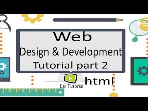 Web Design and Development Bangla Tutorial part 2, Computer ready for work, ess tutorial thumbnail