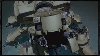 ПРИЗРАК В ДОСПЕХАХ 1995 (сражение с танком)