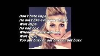 Alexandra Stan - I Did It, Mama! (with lyrics)