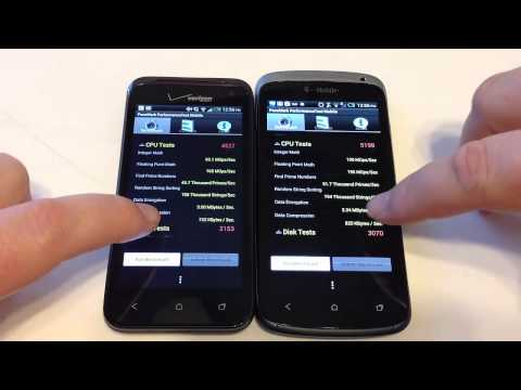 HTC Droid Incredible 4G LTE vs. HTC One S