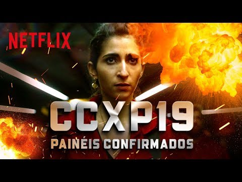 CCXP19 | La Casa de Papel e Esquadrão 6 | Netflix Brasil