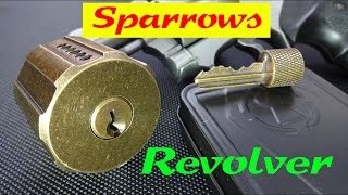(1188) Review: Sparrows REVOLVER Lock Pick Training Lock