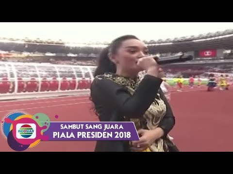 Zaskia Gotik - Tarik Selimut | Piala Presiden 2018