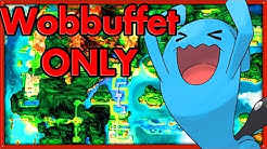 Can I Beat Pokemon Emerald with a single WOBBUFFET? 🔴 NO ITEMS ► Pokemon Challenges