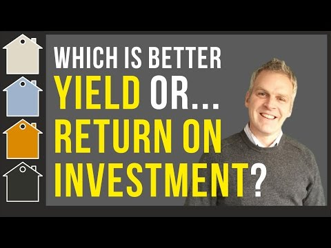 Return On Investment (ROI) or Yield... Finance Analysis on Your Next Property Investment
