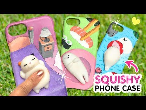 DIY VIRAL SQUISHY PHONE CASES!!! DIY Kawaii Phone Case Crafts & Hacks