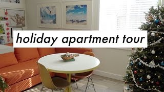 Holiday Apartment Tour! Thrifted & Simple | Alli Cherry