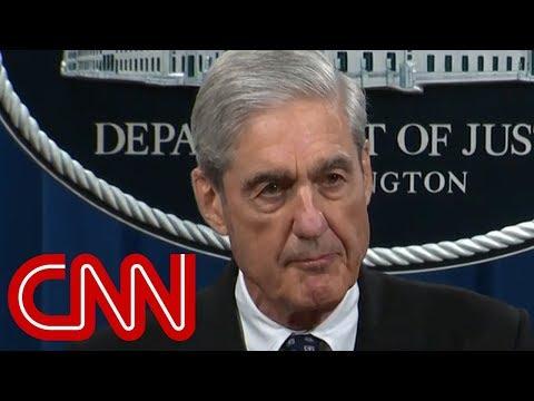 Robert Mueller's first statement about Russia probe