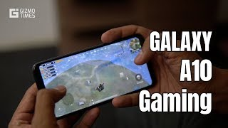 Samsung Galaxy A10 Gaming Review, PUBG Mobile and Asphalt 8 Performance, Graphics - Disappointing!