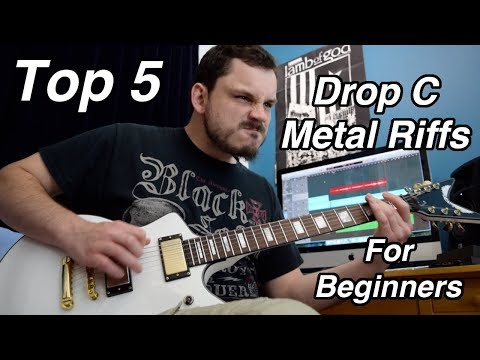 Top 5 Drop C Metal Guitar Riffs For Beginners