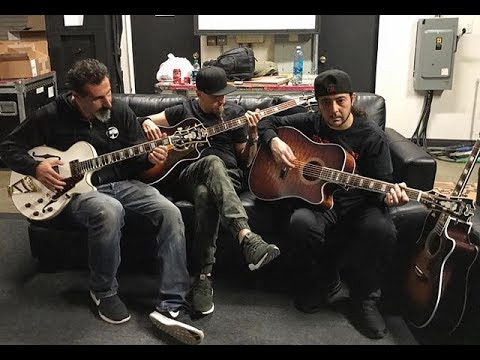 System of a Down - Rehearsals - Europe Tour 2017