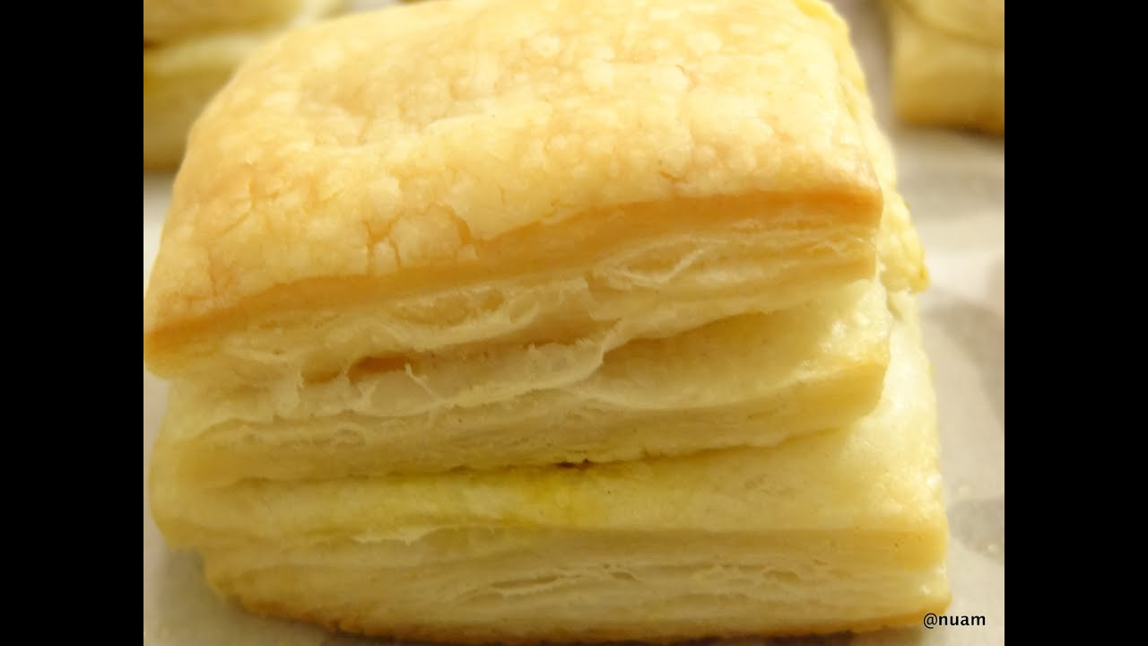 minute puff pastry recipe that is easy! How to make puff pastry at home. Use it anytime you need puff pastry and don't want to buy it. This easy recipe makes just 1 perfect sheet of puff pastry that you can use in any recipe, savory or sweet. Use it in homemade apple turnovers or a ham and cheese puff or donuts.