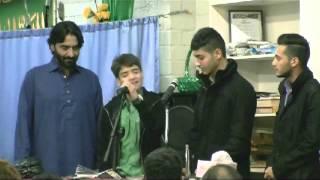 Syed Ali Ji Hasan Son of Safeer e Aza Syed Nadeem Sarwar Sahib