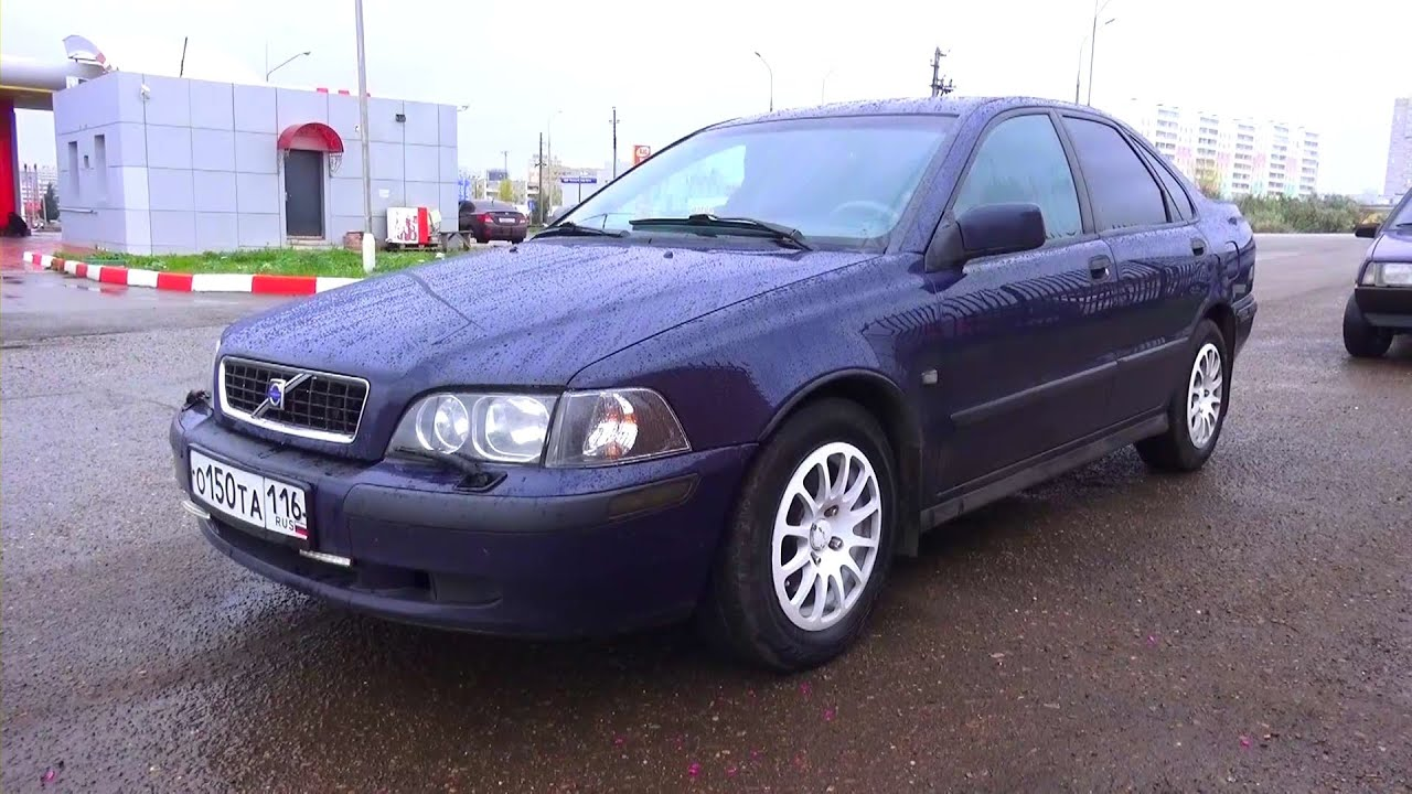 2003 Volvo S40 Start Up, Engine, and In Depth Tour  YouTube
