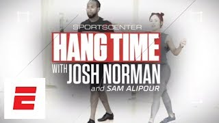 Josh Norman at his 'Dancing with the Stars' rehearsal   Hang Time with Sam Alipour   ESPN Archives