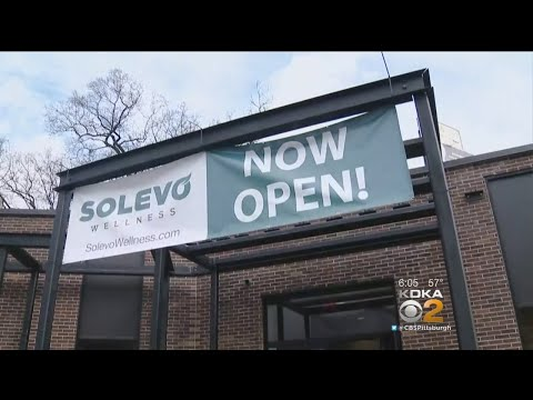 Crowds Line Up At Squirrel Hill Medical Marijuana Dispensary