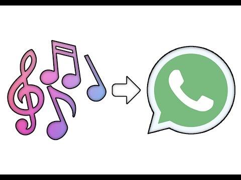 como enviar musicas do iphone para o whatsapp