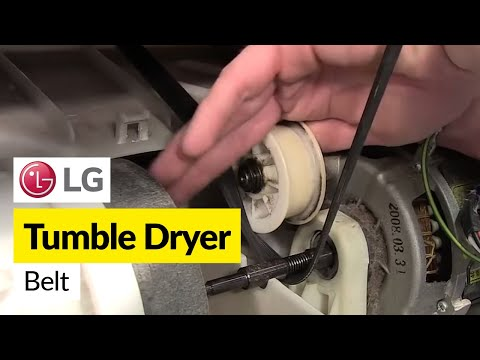 How To Replace A Tumble Dryer Drive Belt (LG)