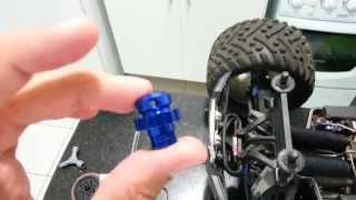 RC BRAZUCA - Traxxas #6469 Extended Wheel Hub do XO-1 Instalados na Summit 1/10 Part-1.