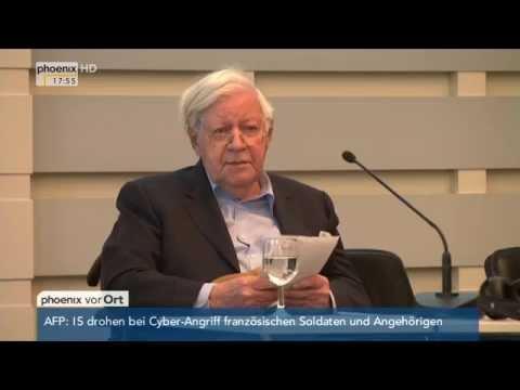 """""""Neue Wege bis 67"""": Rede von Helmut Schmidt zu """"Arbeiten im Alter"""" am 09.04.2015"""