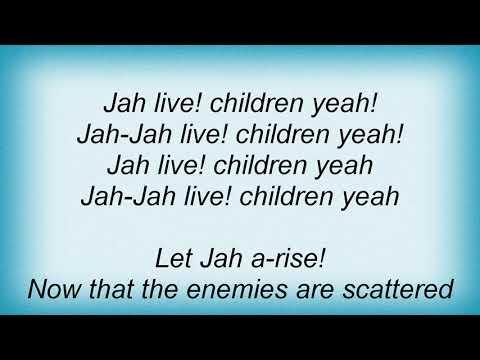 Bob Marley - Jah Live Lyrics