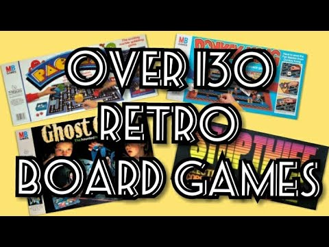 Over 130 Retro / Vintage Board Games